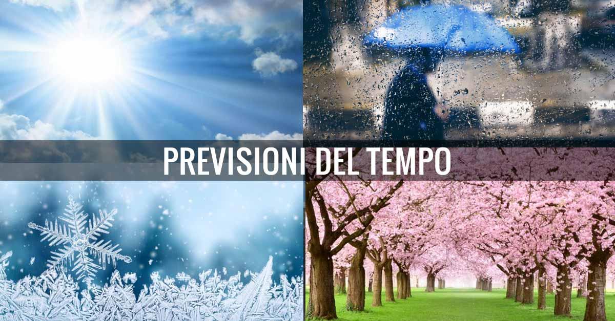 Meteo in Provincia di Imperia, week end da 21 al 23 giugno