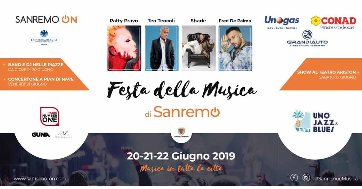 Festa della musica 2019 a Sanremo, tutti i locali che aderiscono alla manifestazione