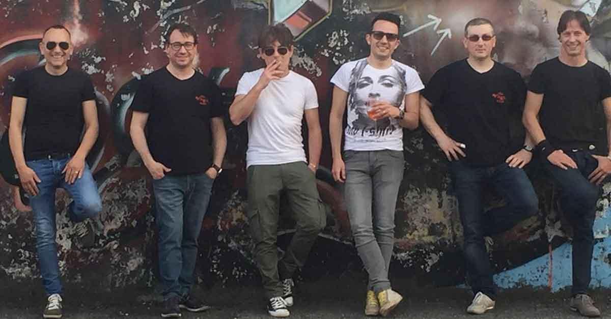 The Virgin Rock Band, gruppo rock alla festa della Musica di Sanremo