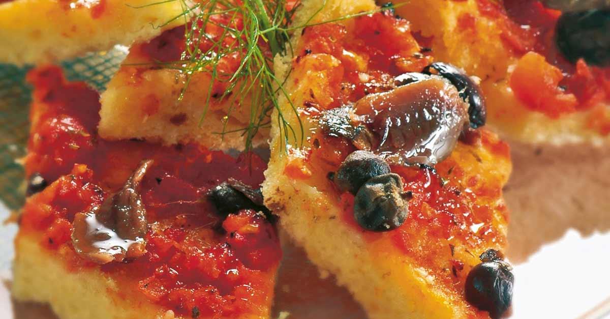 La Sardenaira di Sanremo, cos'è e dove mangiarla.