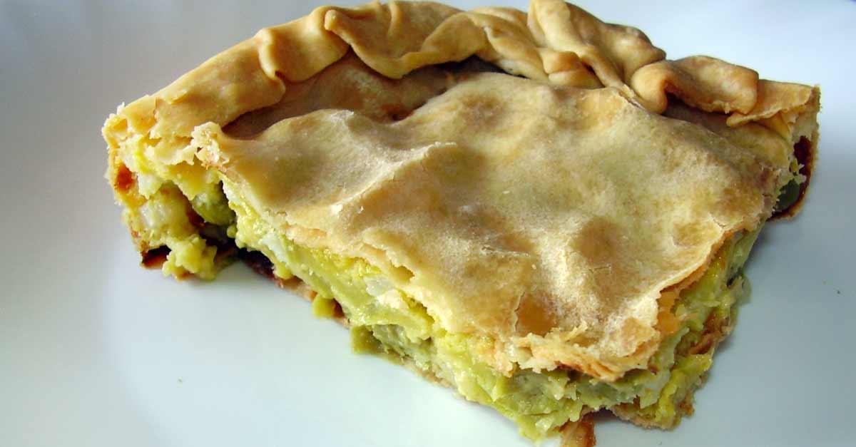 La Torta Verde del ponente ligure, dove mangiarla.