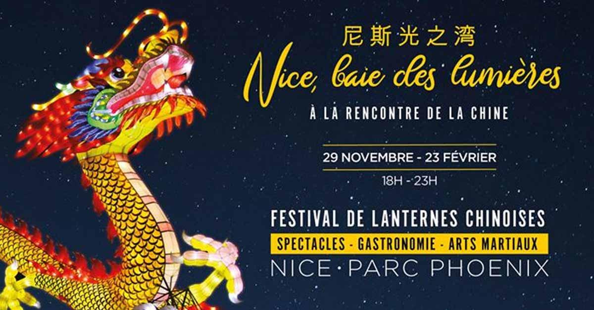 Nizza: Festival delle Lanterne Cinesi