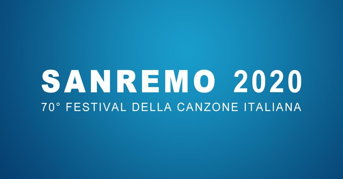 Sanremo 2020, 70° festival della canzone italiana
