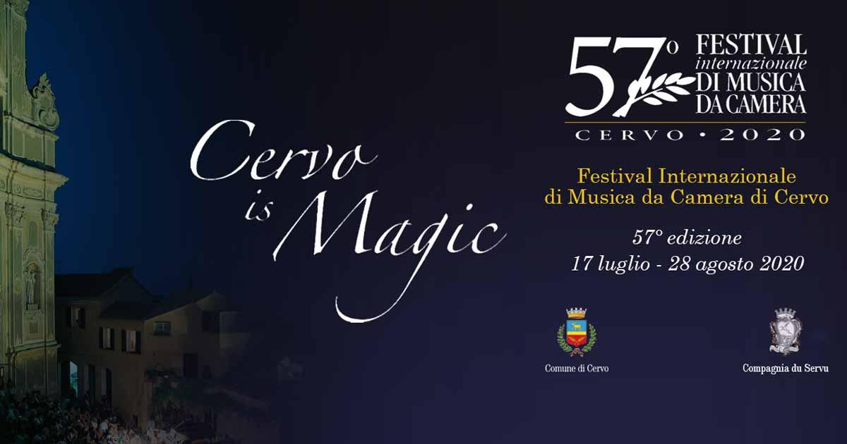 57° Festival Internazionale di Musica da Camera - Cervo 2020