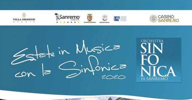 Orchestra sinfonica sanremo estate 2020