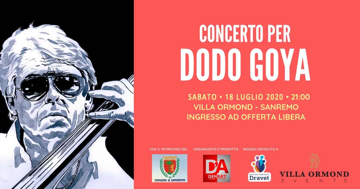 Concerto per Dodo Goya edizione 2020