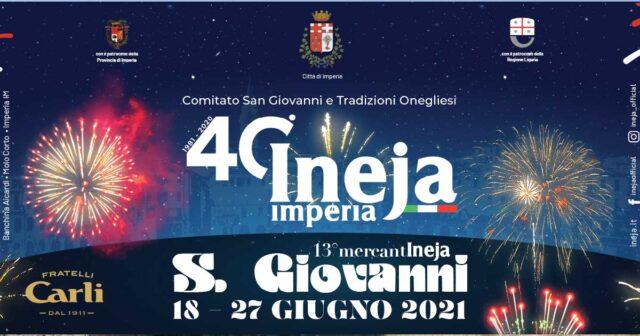 Ineja Festeggiamenti San Giovanni 2021