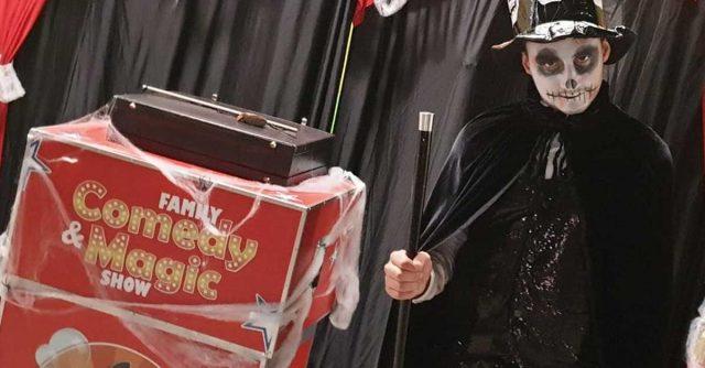 HALLOWEEN Magic&Bubble show!!!